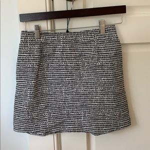 kate spade Skirts - Mini Skirt black and white